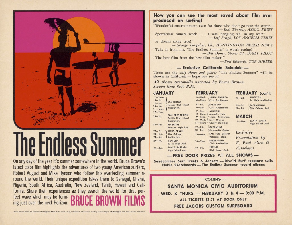 The Endless Summer Bruce Brown 1964