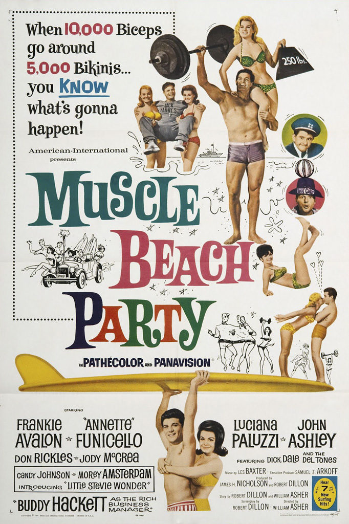 MuscleBeachPartry1964
